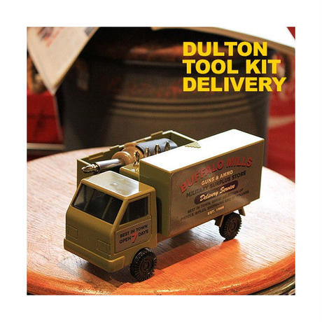 DULTON トラックMILITARY TOOL KIT ドライバーセット OLIVE