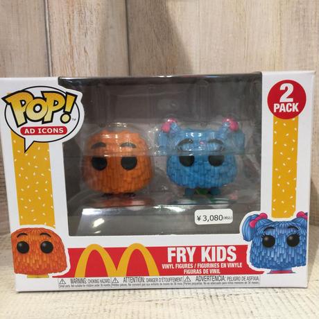 マクドナルド  FUNKO POP! フライキッズ FRY KIDS ファンコ ポップ McDONALD