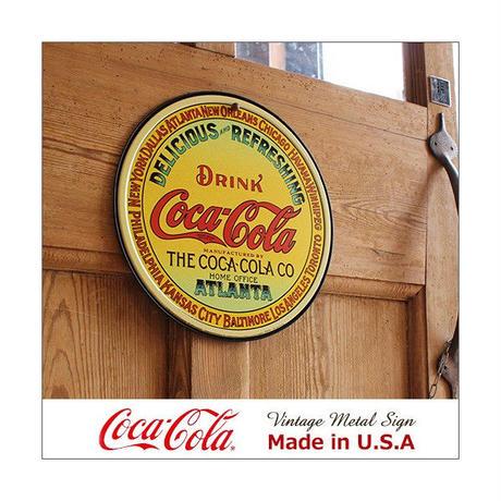 コカ コーラ Keg Label メタル サイン ブリキ看板 Made in USA 1070