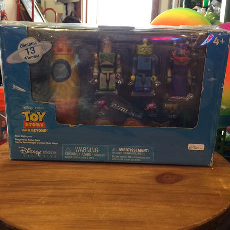TOY STORY/トイストーリー・DISNEY STORE 「Buzz Lightyear・Mega Minis Action Pack/バズ・メガ・ミニズ・アクション・パック」