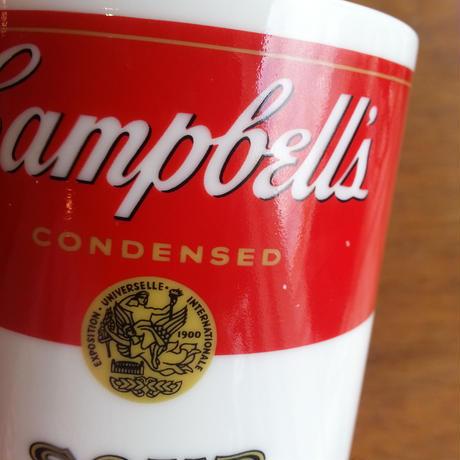 アメリカ製ビンテージ campbell's アンディーウォーホール キャンベルマグカップ