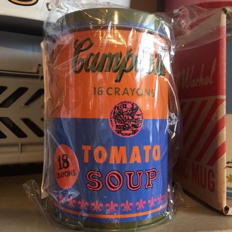 アンディ ウォーホル Campbell's soup クレヨン OR