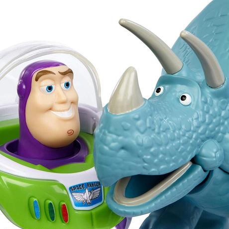 ディズニー ピクサーbトイストーリー25周年 バズライトイヤー & トリクシー アクションフィギュ