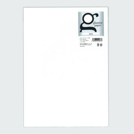 グラシン紙 白無地 A4 ブックカバー 文庫カバー 半透明薄葉紙 敷紙 ラッピングペーパー
