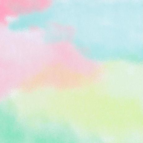 グラシン紙|水彩風 単色|折り紙サイズ|彩雲 ユニコーンカラー 透けるデザインペーパー 薄葉紙 ラッピング