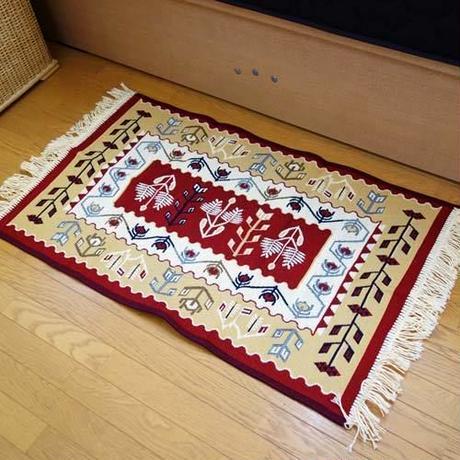 ★  rug-1  リバーシブルコットンキリム玄関マット