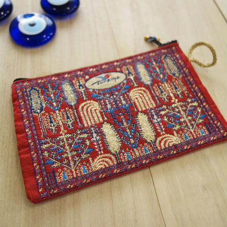 ★ nazapc8   トルコの絨毯柄やタイル柄を再現したトルコデザインポーチ