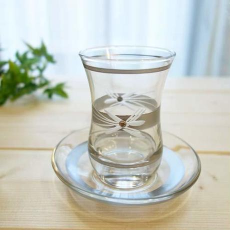 ch1  ★素敵なチャイグラスでティータイムも楽しく!トルコ チャイグラス