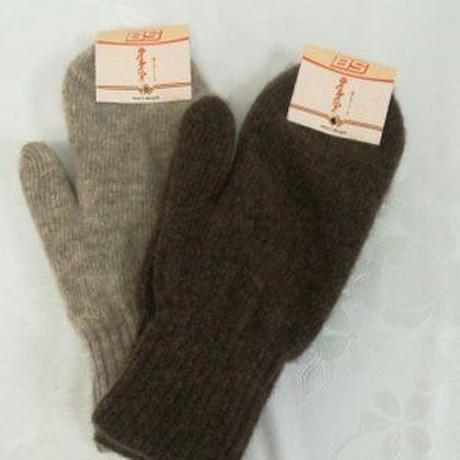 ウール100% モンゴル産ミトン手袋