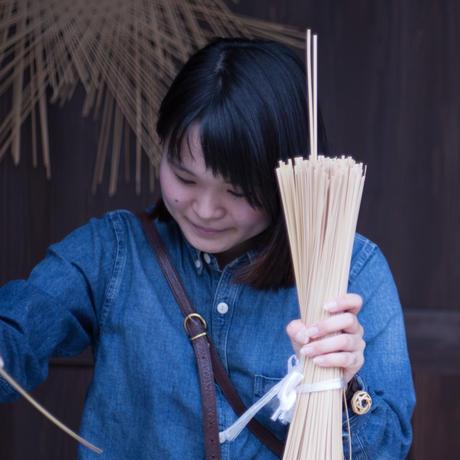 【職人によるハンドメイドの一点物】竹のかみどめ(紺碧)