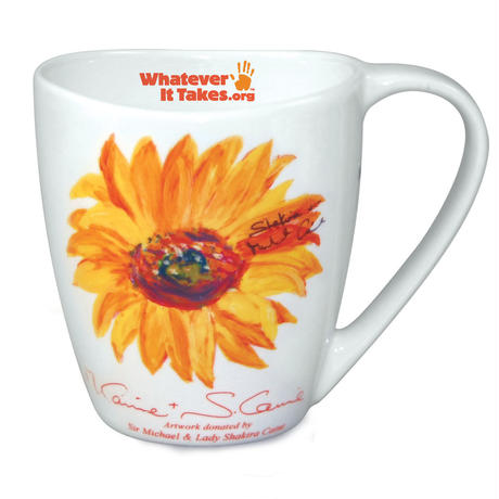 WIT Storm Mug  370ml Gift Tin / artwork donated by Sir Michael and Lady Shakira Caine (缶入りマグカップ)