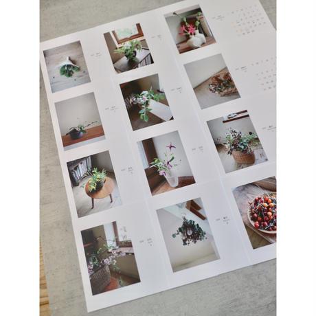 花のこよみ2020 カレンダー&ポストカード