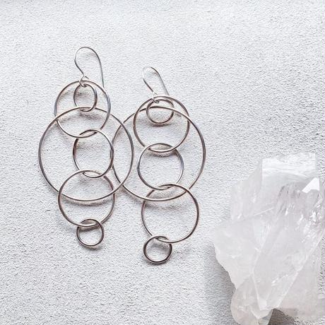 SVF  Mixed Hoop Connected Earrings