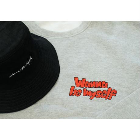 オレカジ!!WBM CORDUROY BUCKET HAT