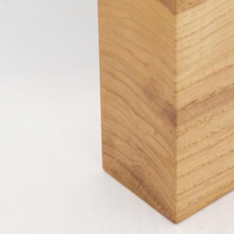 FV_003 木のフラワーベース(ニレ材)