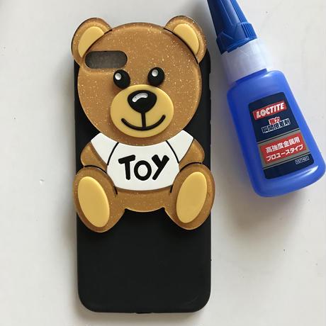 iPhone7用貼り付けベアパーツ