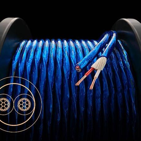 ZONOTONE 6NSP-Granster2200α 金メッキバナナプラグ付スピーカーケーブル 2m×2本