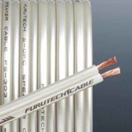 FURUTECH(フルテック) FS-303 金メッキバナナプラグ付スピーカーケーブル 2.0m×2本