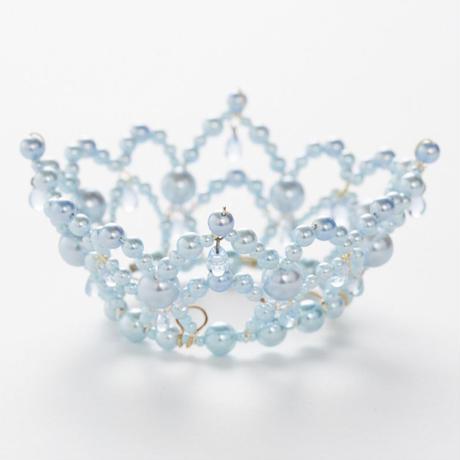 Pale Blue Pearl Crown