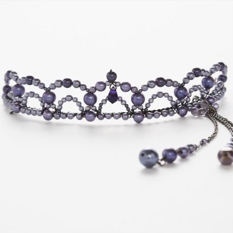 Purple Tiara(ピアス付き)