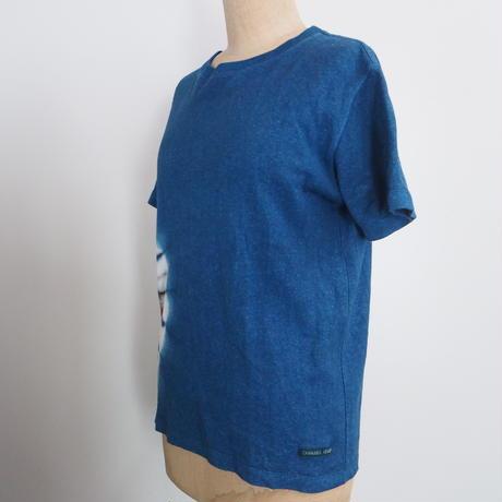 A HOPE HEMP Regular Short Sleeve Tee(S)(インド藍×インド茜)
