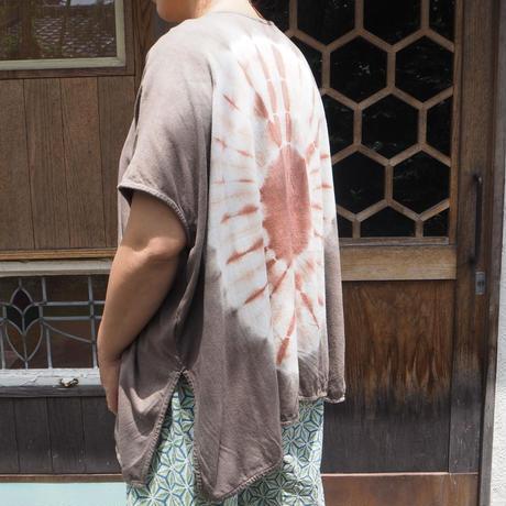 A HOPE HEMP Hemp  Bamboo kite Tee(枇杷×赤麻)
