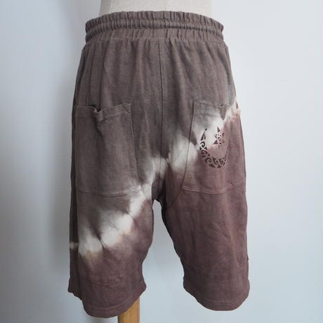 A HOPE HEMP Short Pants(L)(赤麻×枇杷)