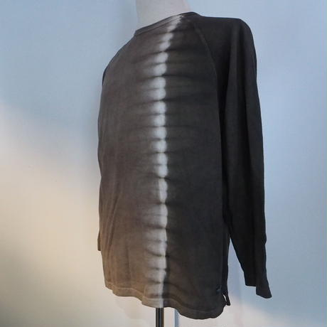 A HOPE HEMP Raglan Long Sleeve Tee(枇杷×矢車)