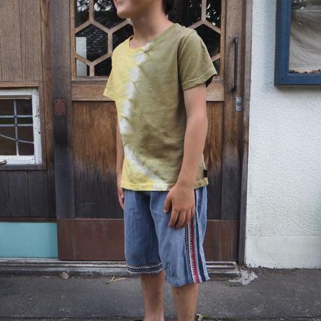 A HOPE HEMP  Hemp Organic Cotton Kids Tee  (120cm)(ハルジオン×山桃)