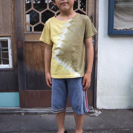 A HOPE HEMP  Hemp Organic Cotton Kids Tee (90㎝)(赤麻×桜)