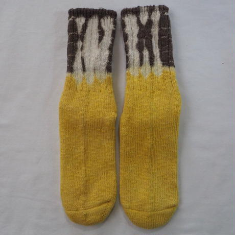 YOUstandard Hemp Cotton Socks(大) (ハルジオン×枇杷)