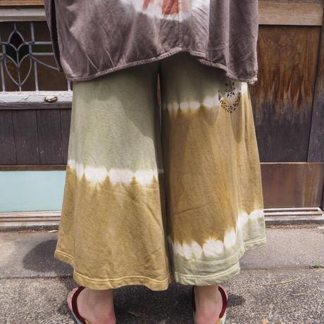 A HOPE HEMP 8SL WIDE PANTS(蓬×山桃)