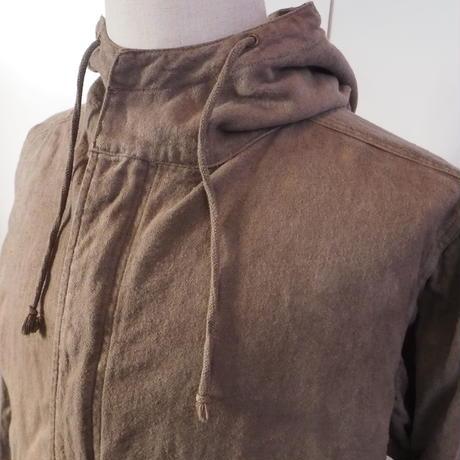 A HOPE HEMP  Hemp Flannel  Mods Coat(枇杷×柘榴×山栗×柿渋)