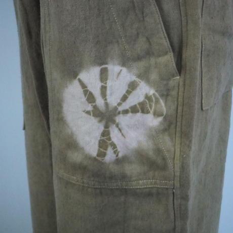 A HOPE HEMP Hemp Flannel BAKER EASY PANTS(山桃×小鮒草×インド藍)
