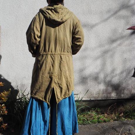 A HOPE HEMP  Hemp Flannel  Mods Coat(山桃)