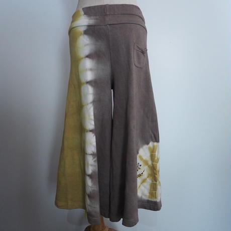 A HOPE HEMP 8SL WIDE PANTS(蓬×枇杷)