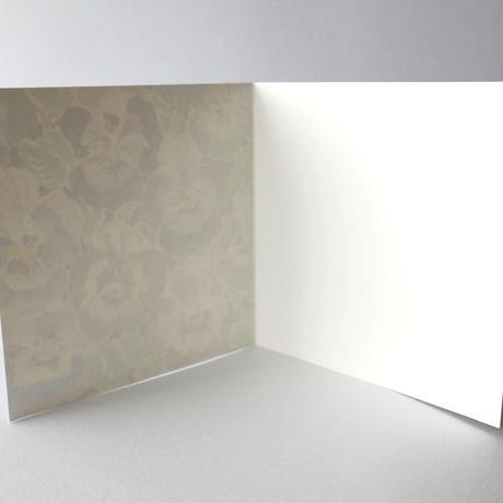 メッセージカード SB-CAL001 ビオラ(封筒付き)
