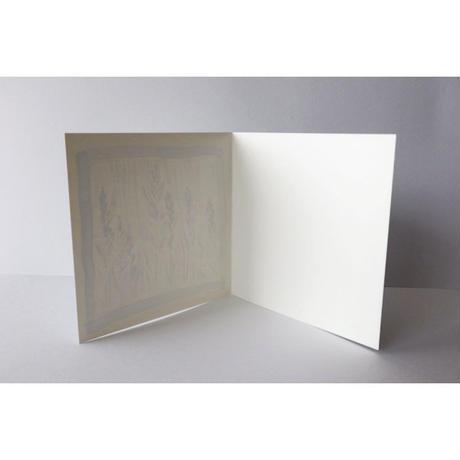 メッセージカード SB-CAL002 リンドウ(封筒付き)