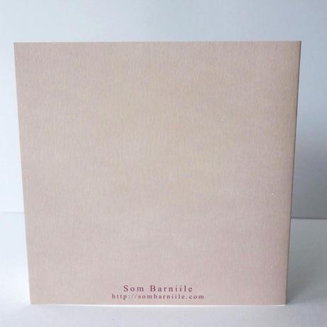 メッセージカード SB-CAL004 スイートピー(封筒付き)