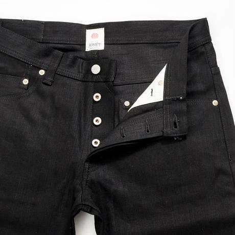 Writer's '08 Jeans - Black x Black -