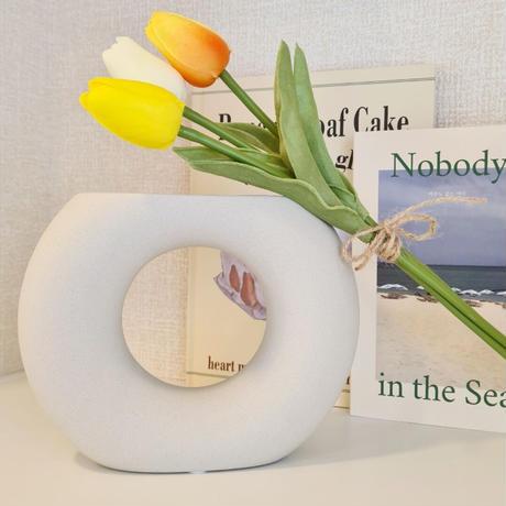 round  flower  base
