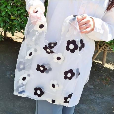 seethrough  flower bag