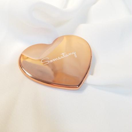 Somsatang  mini heart mirror