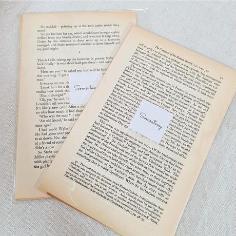 vintage book切り抜き10枚set