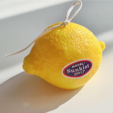lemon candle