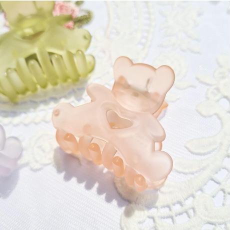 mini bear  clip
