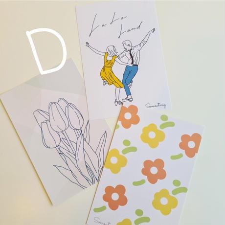 postcard 3枚set
