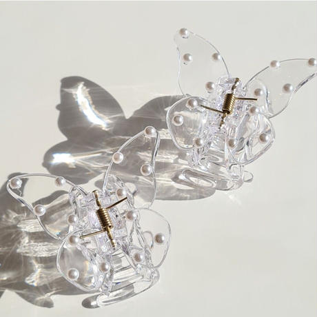 butterfly clear clip