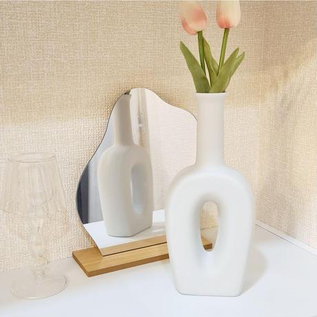 long flower vase