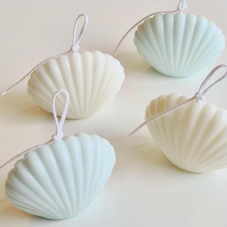 mini shell candle